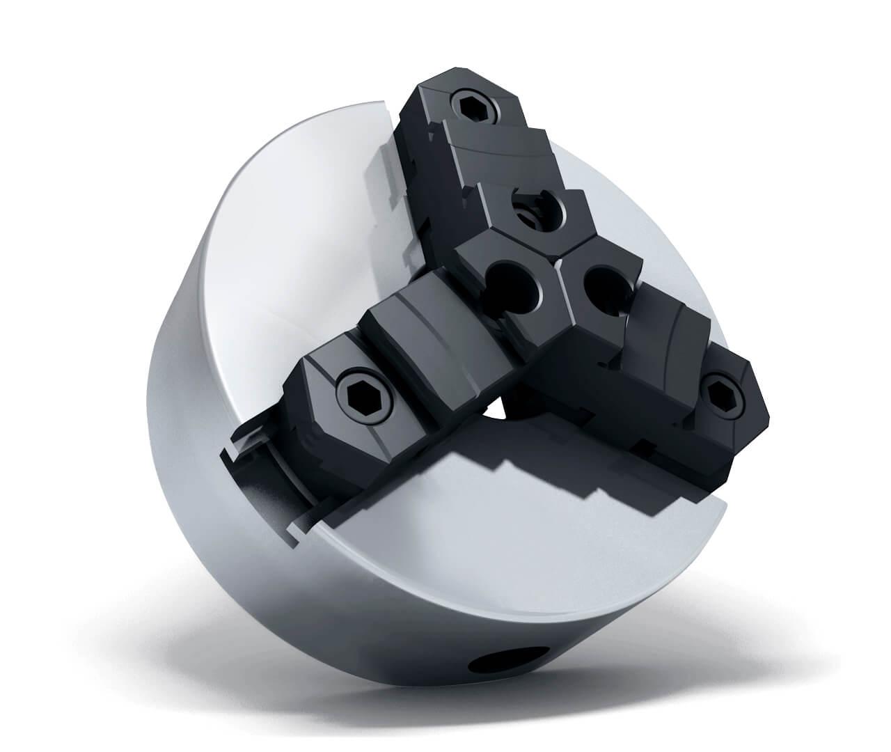 Freybutjer Drehfutter 3D-Produkt Rendering