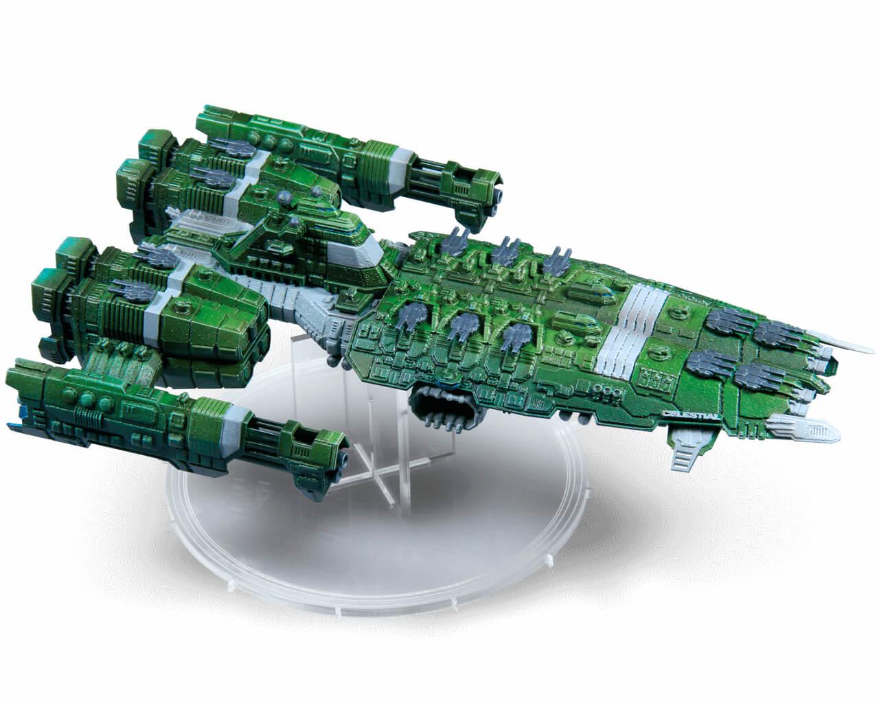 Freybutjer Mechworld Homefleet Ship